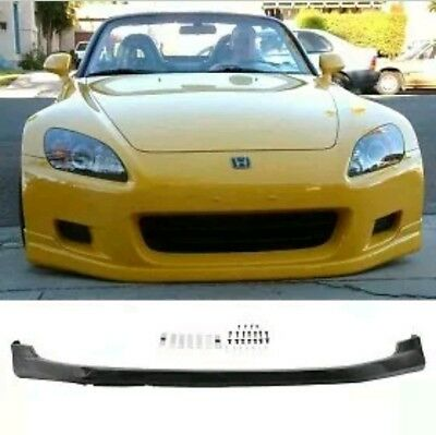Honda S2000 Ap1 Front Lip Splitter Spoiler 00-03 | Pu Plastic | Black | New Uk