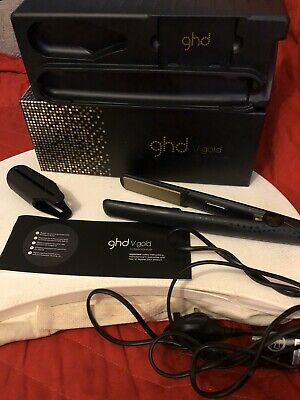 ghd V Gold hair straighteners With Original Box - Used Just Once - Immaculate