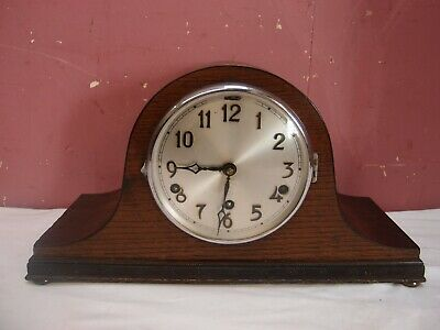 "ANTIQUE 1930's ""NAPOLEON'S HAT"" MANTLE CLOCK WITH WESTMINSTER CHIMES PROJECT"