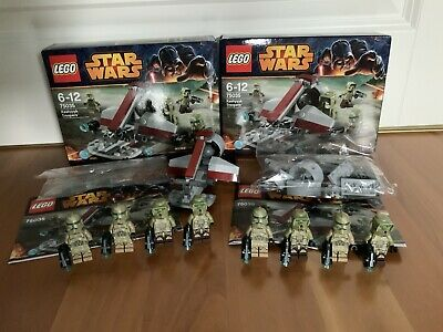 LEGO Star Wars 2x Kashyyyk Troopers - 8 Clone Trooper Army 75035 - TOP & OVP