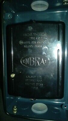Enbray type 2Z heating contactor 100 amps 250 volts AC