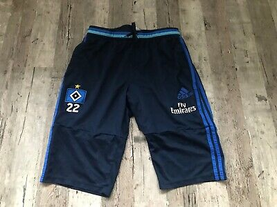 100% ORIGINAL HSV Short Hamburger SV Match Worn Gr. L EUR