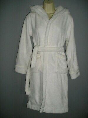 New With Tag Jasper Conran Luxurious Childrens Plush Velour Dressing Gown Rrp£36