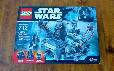"FREE SHIPPING! LEGO 75183 ""Darth Vader Transformation"" Star Wars,282pcs"
