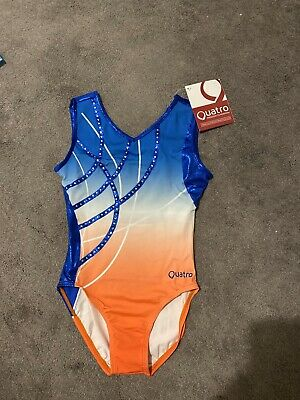 Quatro Leotard Girls AXS- Brand New With Tags (10-11 Years/32 Inch)