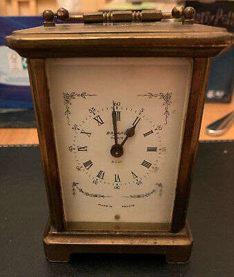 Antique Duverdrey & Bloquel 8 day French Bayard Carriage Clock