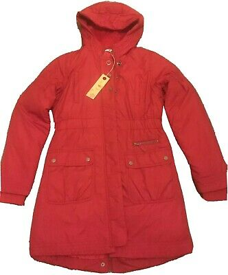 BNWT Marks And Spencer M&S GIRL School WINTER COAT PAD Red 13-14 XS STORMWEAR