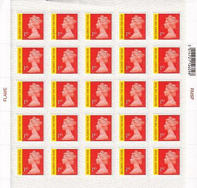 GB 25 x £1.90 1st Class Signed For Stamps worth £47.50 Discounted Postage