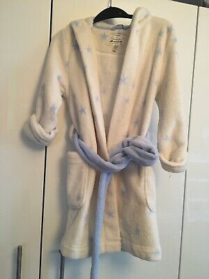 JOULES Soft fleece dressing gown    Age 5-6 yrs exc cond