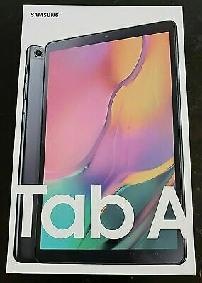 Samsung Galaxy Tab A (2019) 64GB, Wi-Fi, 10.1in - Black (SM-T510)