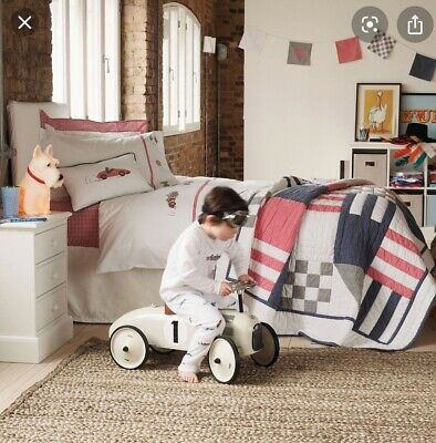The Little White Company Atirling Quilt And Bunting BNWT