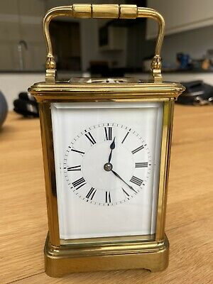 High Quality Carriage Clock By Henri Jacot, One Of The Top French Clockmakers