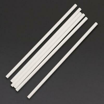Fiesta Green Compostable Paper Straws White Pack of 250 Length: 210mm