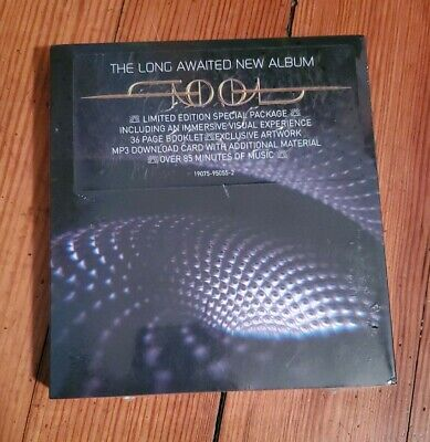 "TOOL Fear Inoculum Deluxe Limited Edition CD 4"" HD Screen Priest Bowing Sealed"
