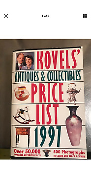 Kovel's Antiques & Collectibles Price List 1997