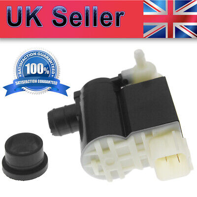 VOLKSWAGEN TRANSPORTER T4 FRONT /& REAR TWIN OUTLET WASHER PUMP 1990-2003