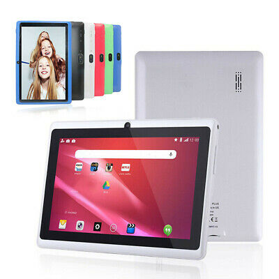 "7"" Inch Android Tablet 4GB Quad Core Dual Camera bluetooth Wifi Kids Tablet"