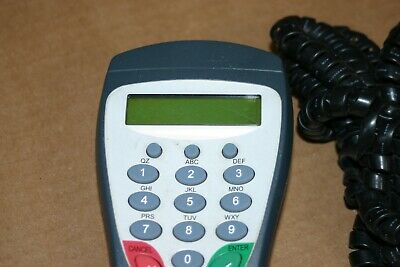 Hypercom S9 Pin Pad Terminal & Cable for Debit Card Keypad Transactions Pinpad