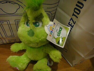 Build A Bear Baby Grinch Sold Out Brand New With Tags Young Grinch RARE