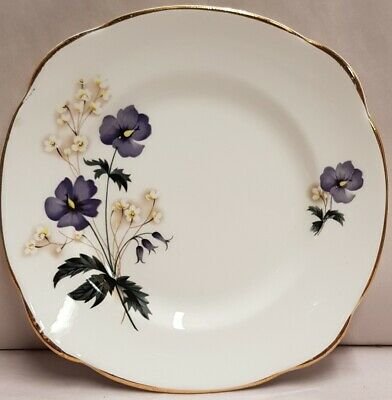 English A.T. Finney Duchess China Floral Bone China Side Plate c1960-62