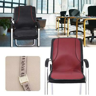Electric Heated Seat Cushion Comfortable Leather Heating Pad Cushion for Home Of