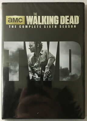 The Walking Dead: The Complete Sixth Season DVD Set Factory Sealed See Pictures!