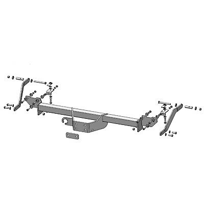 Towbar for Peugeot Boxer Chassis Cab 2006 Onwards - Flange Tow Bar