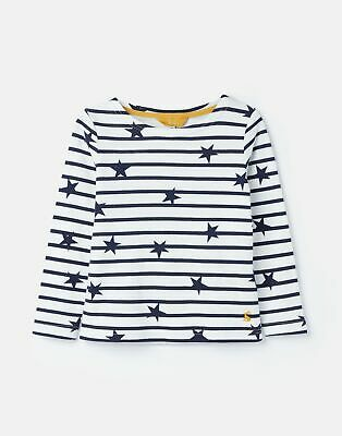 Joules Girls Harbour Print   Jersey Top Shirt 3 12 Years  in