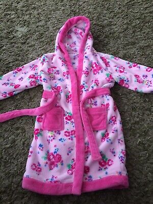 Lovely Girls Dressing Gown 4 To5 Years Very Soft