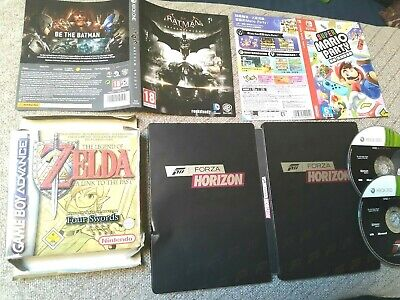 Large Job Lot/Bundle of Various Sleeves/Cases/Booklets - DS,Xbox,360,One,PS4,Wii