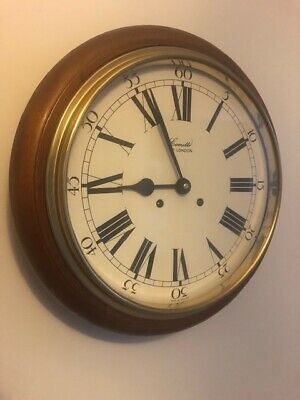 Stunning Comitti Wall Clock. School / Station / Dial