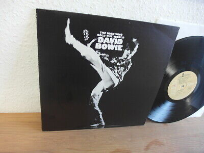 70s Lp David Bowie – The Man Who Sold The World Rarity in Mint