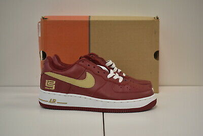 2003 NIKE AIR Force 1 Low LE REMIX DA KICKZ KICKS WHITE RED