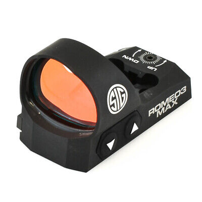 Sig Sauer Romeo3MAX 1x30mm Red Dot Sight, 6 MOA Dot Reticle, SOR32003