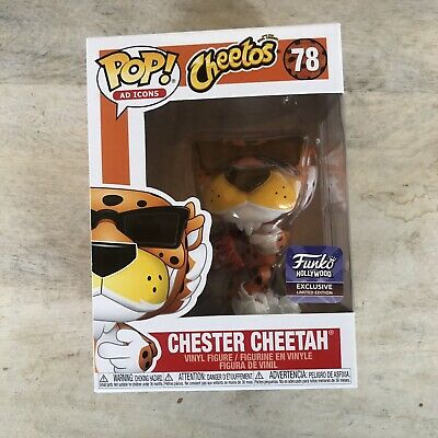 Funko pop ad icons Chester Cheetah Hollywood Exclusive Limited Edition