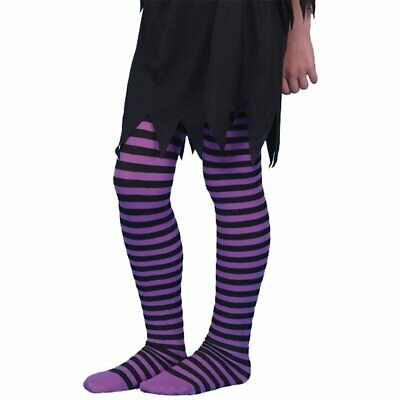 Stripey Tights For Children Fancy Dress Everyday Wear Ages 3-12