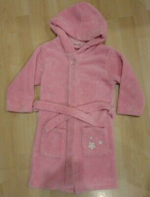 Playshoes Girls Pink Hooded Dressing Gown ... Age 4