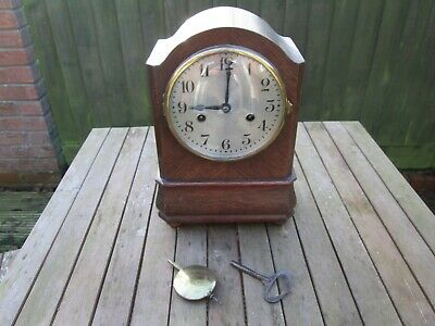 Hac 14 Day Striking Mantel Clock Working