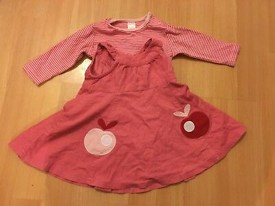 girls pink outfit age 3-6 months from next
