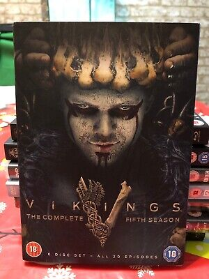Vikings complete season 5 (volume 1 & 2) DVD *New and Sealed*