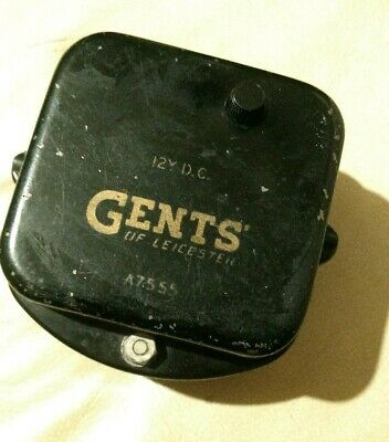Gents Of Leicester A7555 12 volt Fire Alarm Buzzer