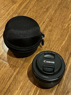 Canon EF 50 f1.8 STM With Protective Case