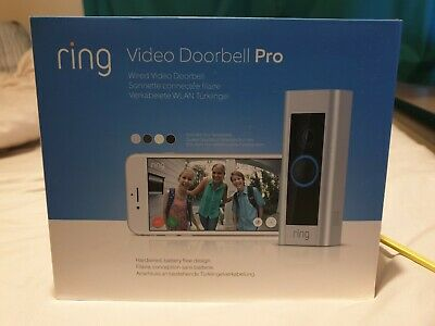 Ring Smart Video Doorbell Pro with Chime + Transformer NEW SEALED