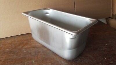 NEW VOLLRATH 1/3 PREP Steam Table Restaurant Pan,Third-Size,6.1 Qt 30362