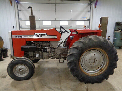 1981 Massey Ferguson 265 Tractor, 2WD, 12 Speed, 1 Remote, 2,014 Hours, NICE!!!