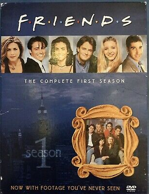 Friends The Complete First Season DVD 4 Disc Deluxe Box Set Bonus Features