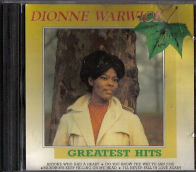 Dionne Warwick: Greatest Hits CD Value Guaranteed from eBay's biggest seller!