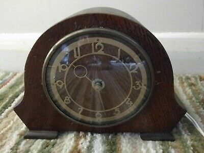 Smiths Electric 8 Day Deco Style Mantle Clock