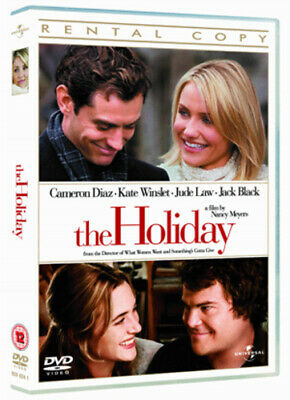 The Holiday DVD (2007) Cameron Diaz, Meyers (DIR) cert 12 FREE Shipping, Save £s