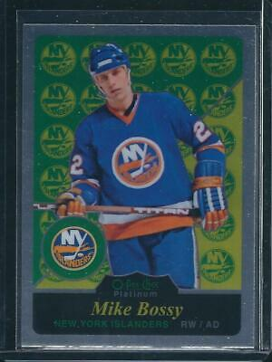 2015-16 OPC Platinum MIKE BOSSY #R5 RETRO - New York Islanders
